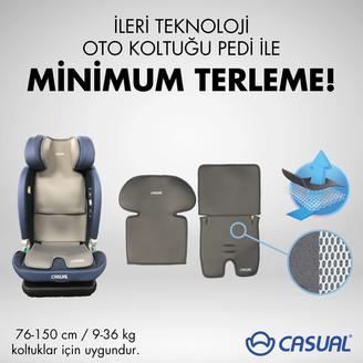CASUAL - Casual 76-150 cm / 9-36 kg İleri Teknoloji Oto Koltuğu Pedi