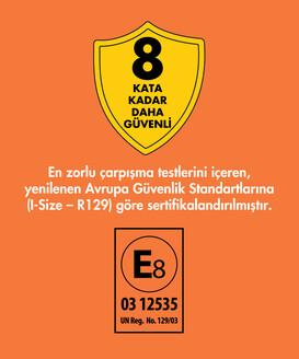 Goldfix i-Size 76-150 cm / ≌ 9 kg - ≌ 36 kg İsofixli Oto Koltuğu - Thumbnail