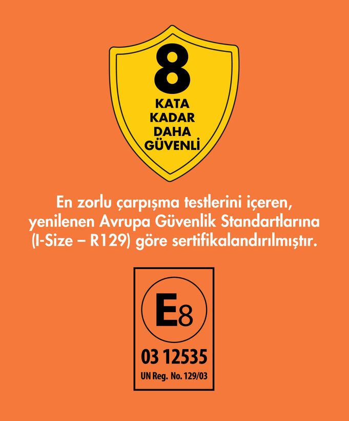Goldfix i-Size 76-150 cm / ≌ 9 kg - ≌ 36 kg İsofixli Oto Koltuğu