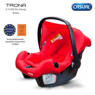 CASUAL - Trona 0-13 Kg Oto Koltuğu - Kırmızı