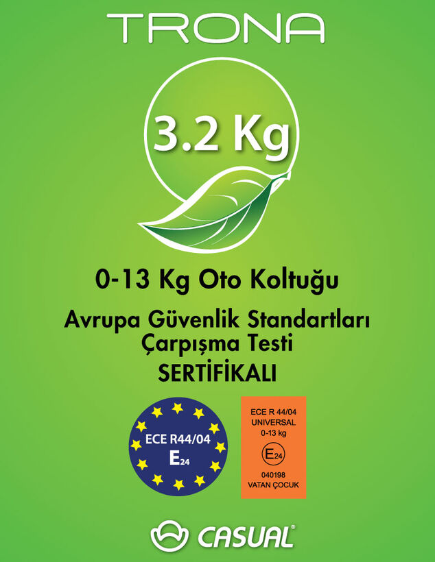 Trona Carbon 0-13 Kg Oto Koltuğu